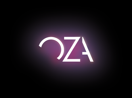 Oza logotype *caption graphic design