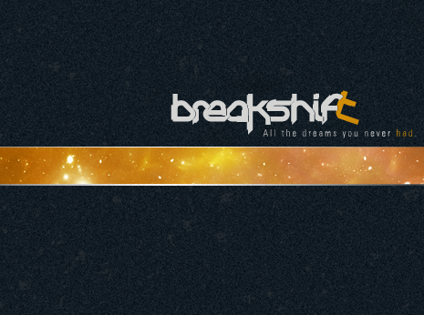 Breakshift artcover album *caption graphic design
