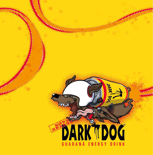 Dark Dog Collector *caption graphic design