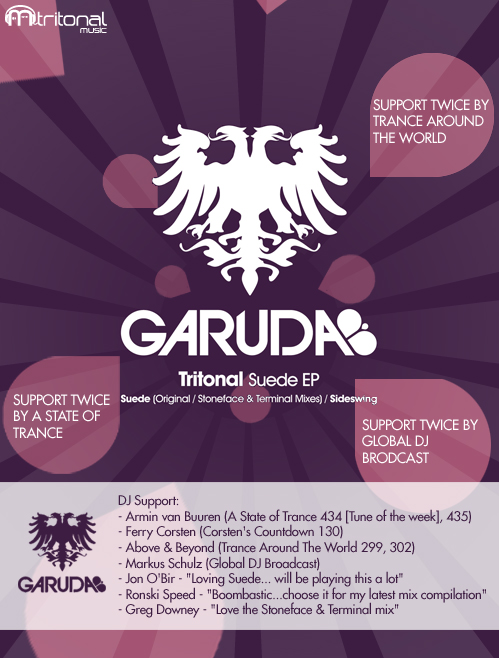 caption garuda flyer