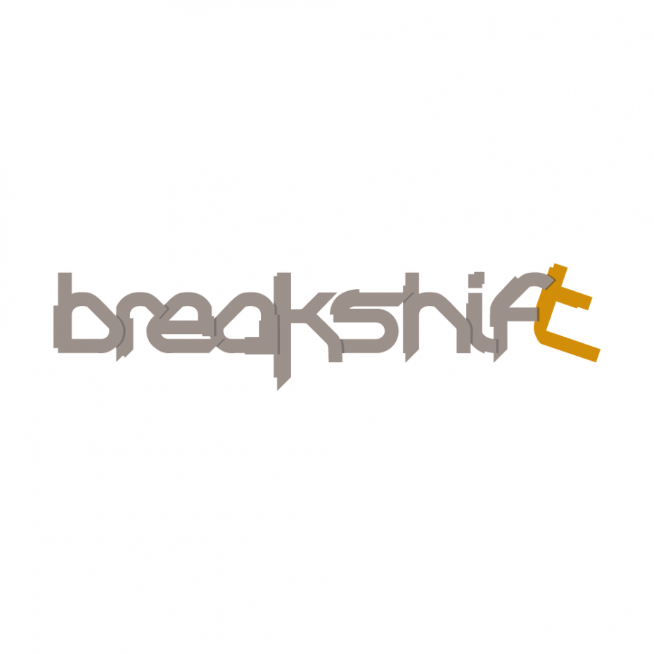Breakshift logotype *caption graphic design