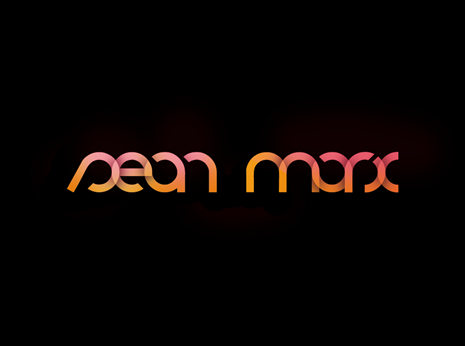 sean marx logotype *caption graphic design