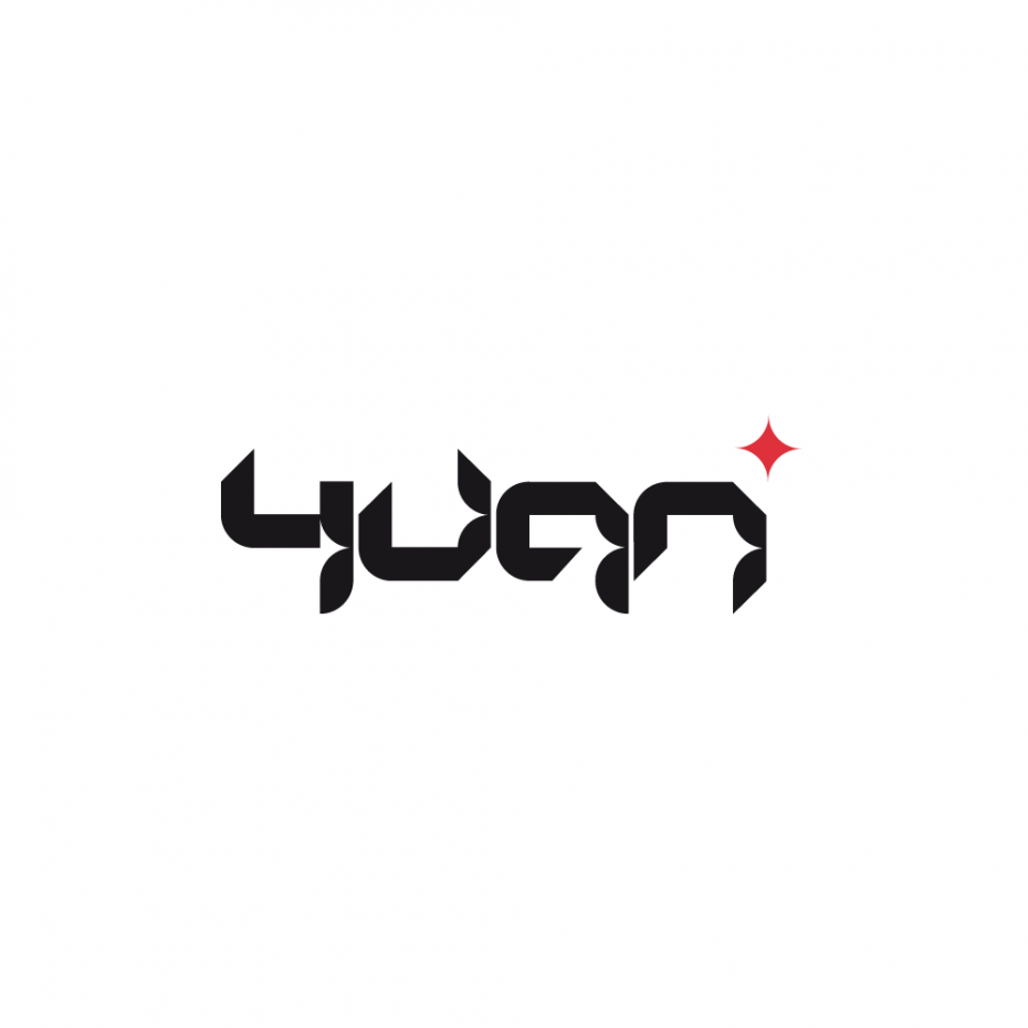 Yuan logotype *caption graphic design