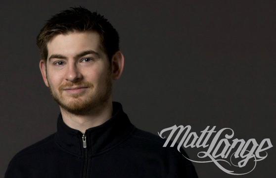 caption Matt Lange Logotype