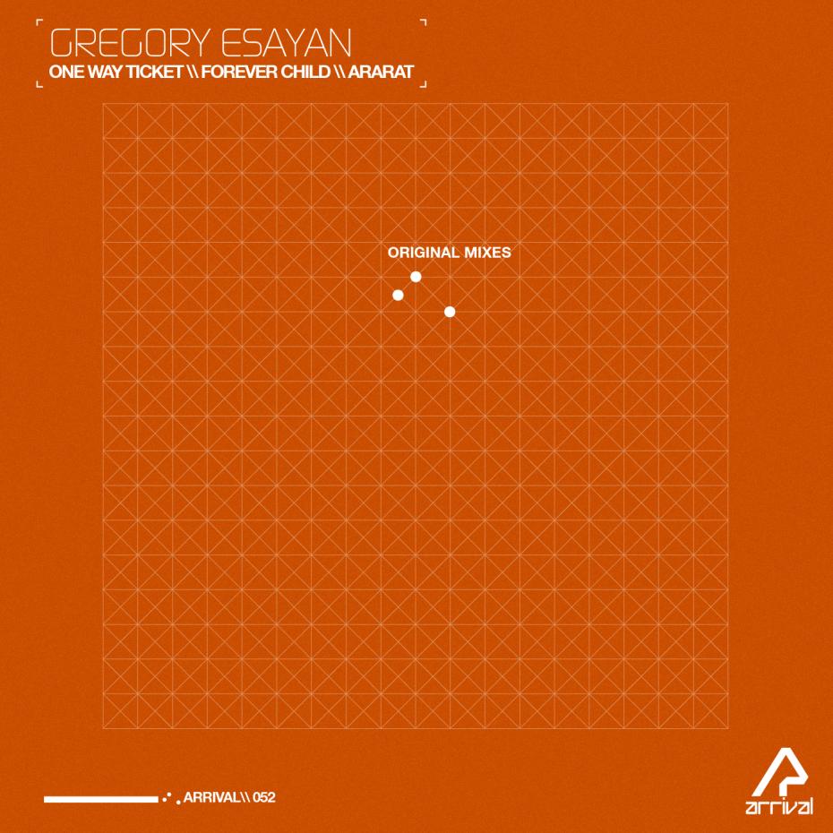 Arrival recordings release *caption graphic design music