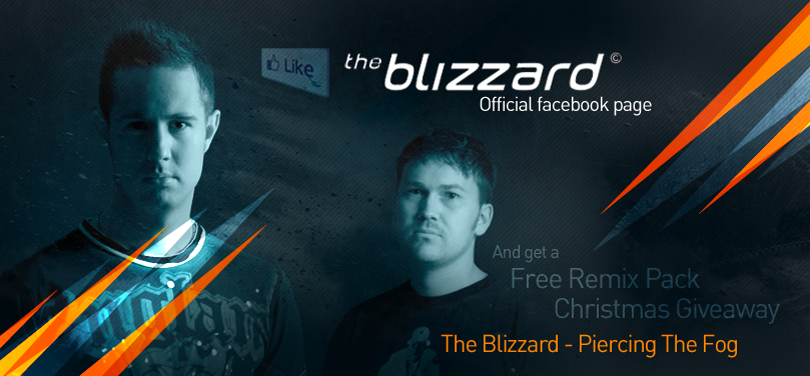 The Blizzard promo artcover *caption graphic design