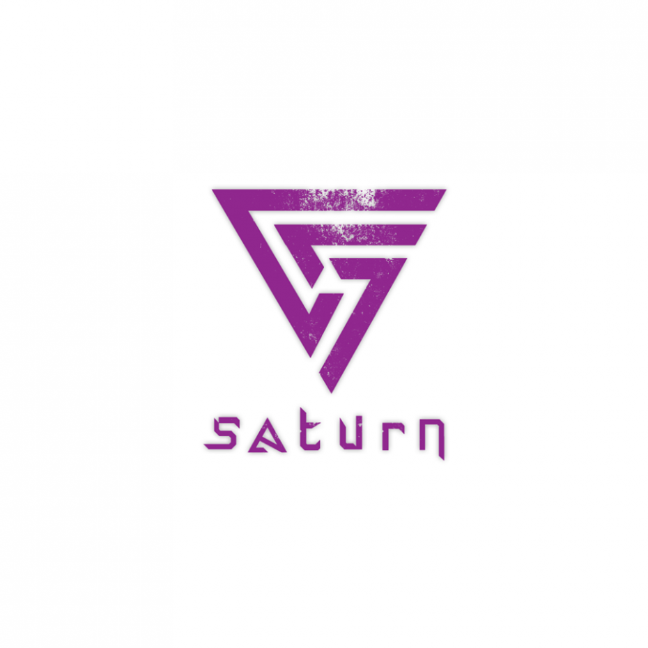 Saturn Logotype *caption graphic design