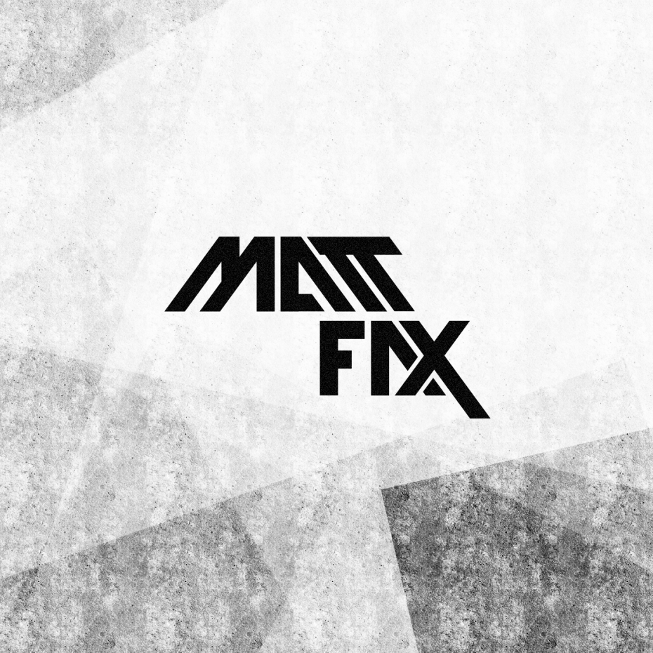 Matt Fax logotype *caption graphic design