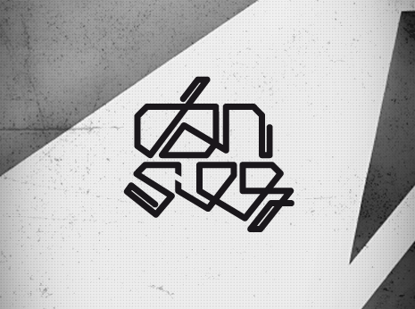 Dan Sieg logotype *caption graphic design
