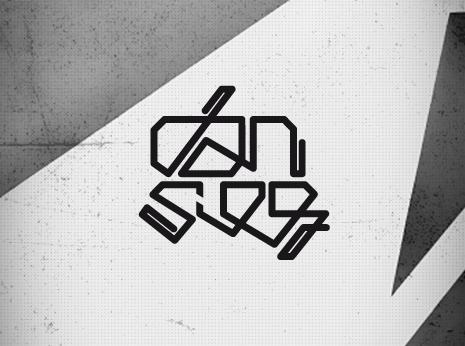 Dan Sieg logotype *caption graphic design