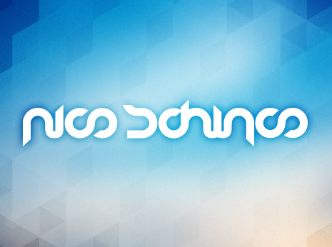 Nico Schinco logotype *caption graphic design