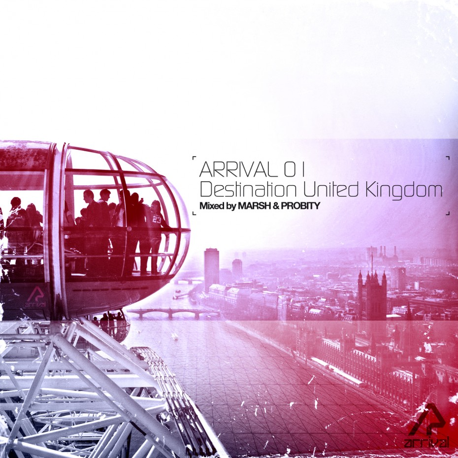 Arrival Destination UK *caption graphic design