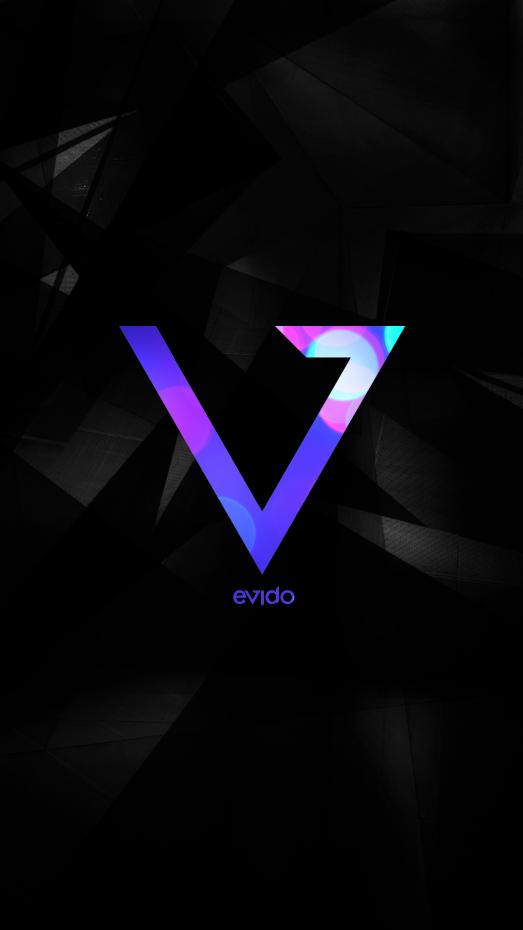 Evido Logotype *caption graphic design