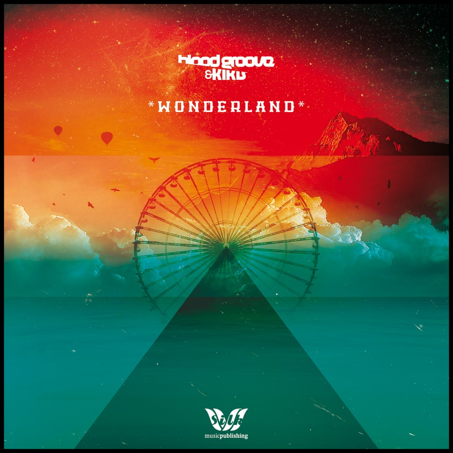 Wonderland album *caption graphic design