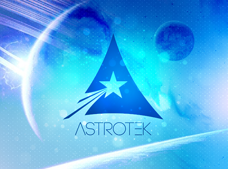 Astrotek Logotype *caption graphic design