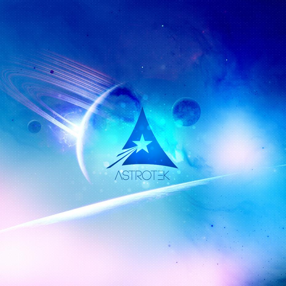 Astrotek Wallpaper *caption graphic design